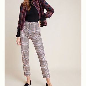 Anthropologie Malcolm Plaid Trousers
